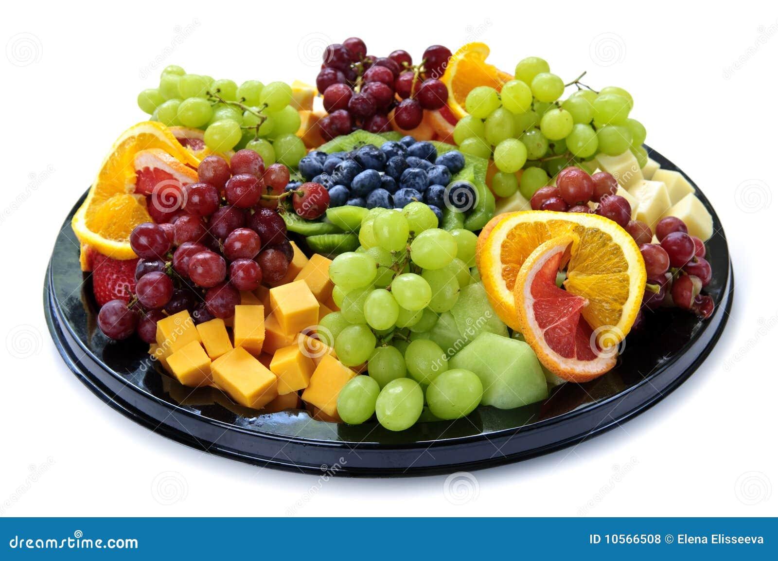Top Plateau de fruit photo stock. Image du isolement, santé - 10566508 BR51