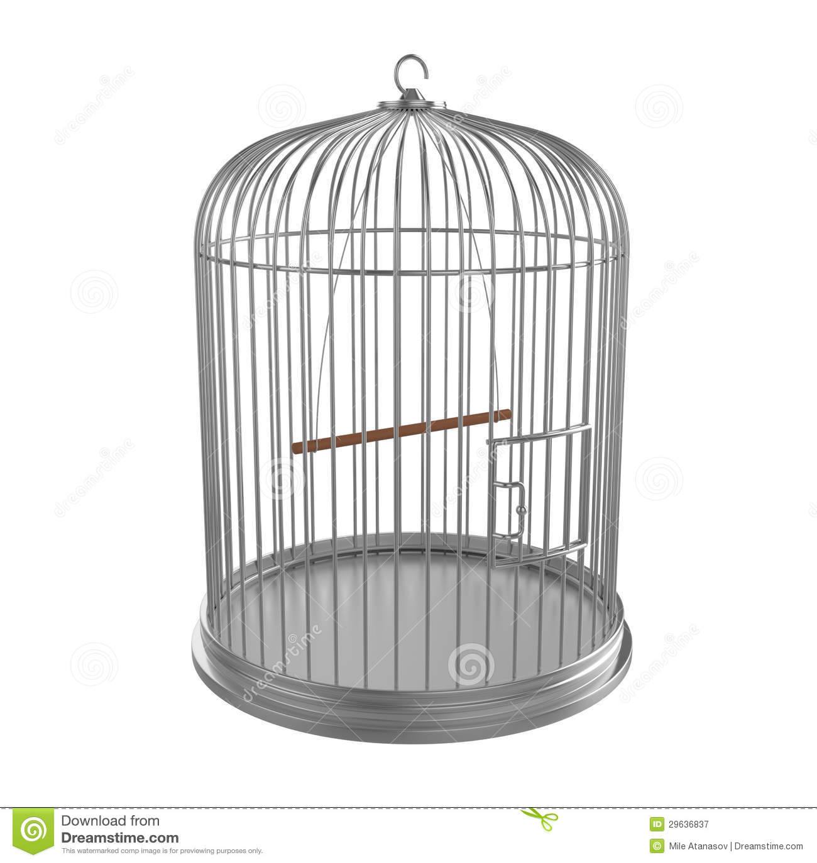 Platee la jaula de pájaros
