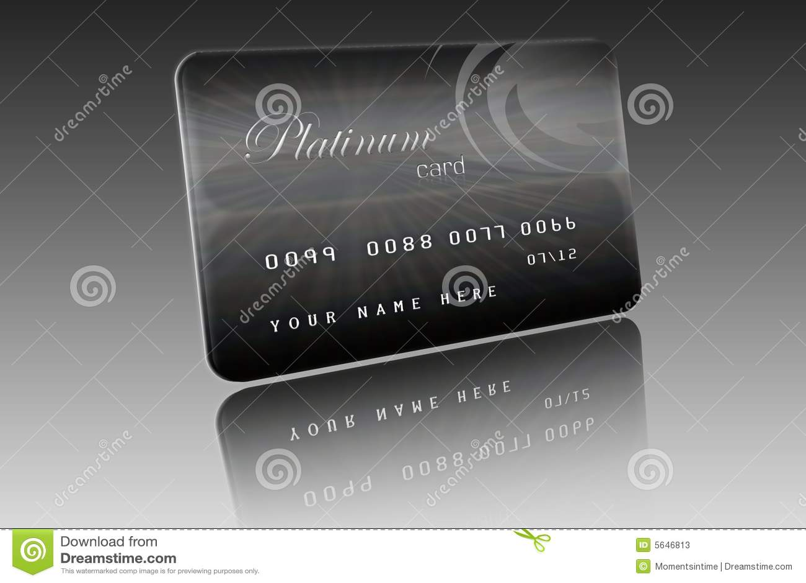 Platinum card stock illustration illustration of grey 5646813 platinum card publicscrutiny Gallery