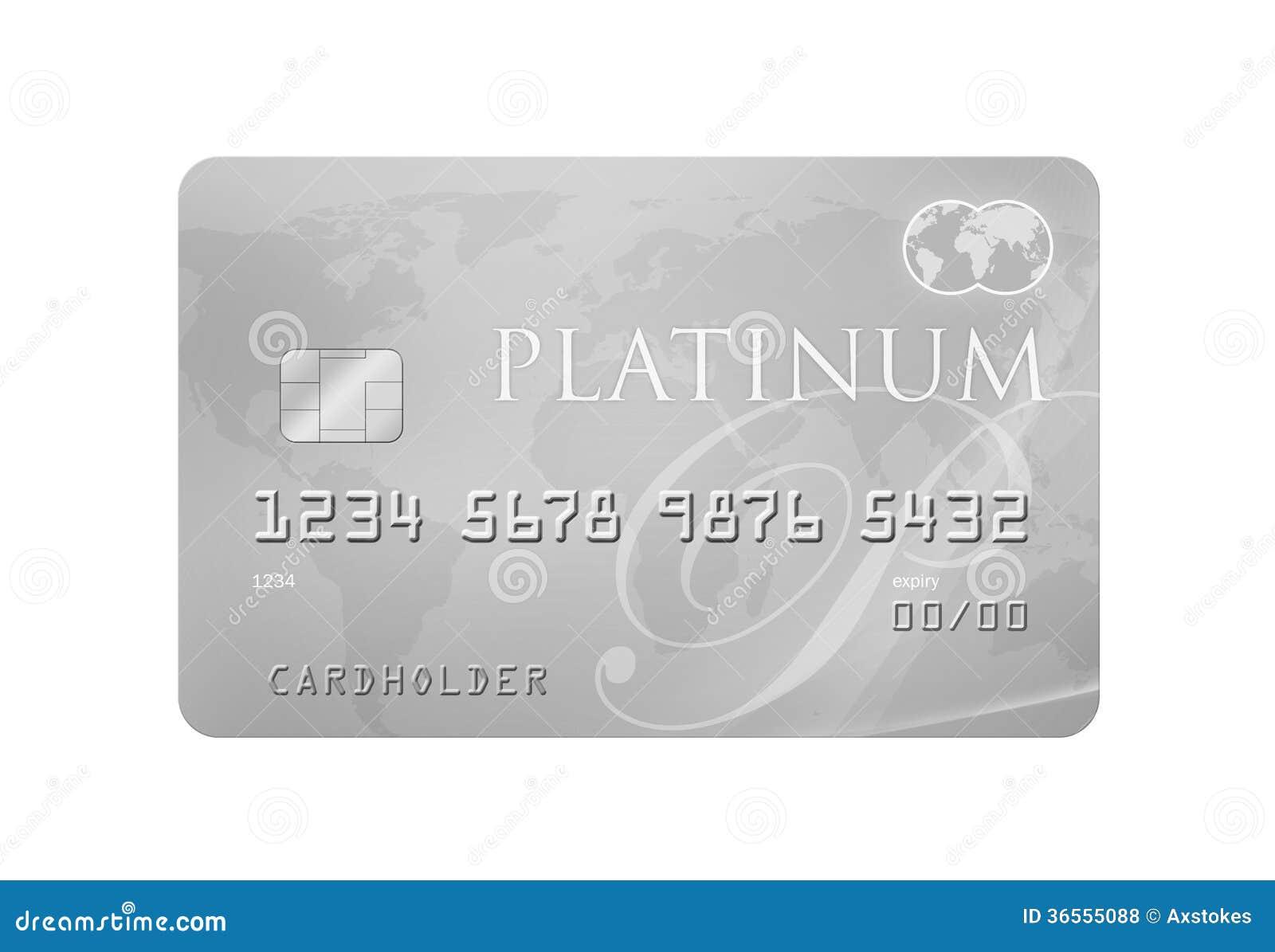 platinum credit card royalty free stock photos image 36555088. Black Bedroom Furniture Sets. Home Design Ideas