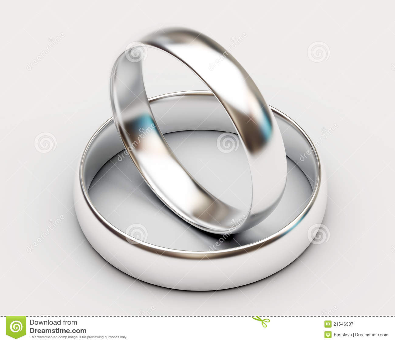 platinum wedding rings on white background - Platinum Wedding Rings