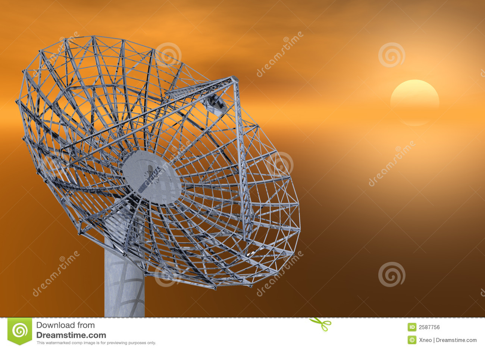 Plato basado en los satélites