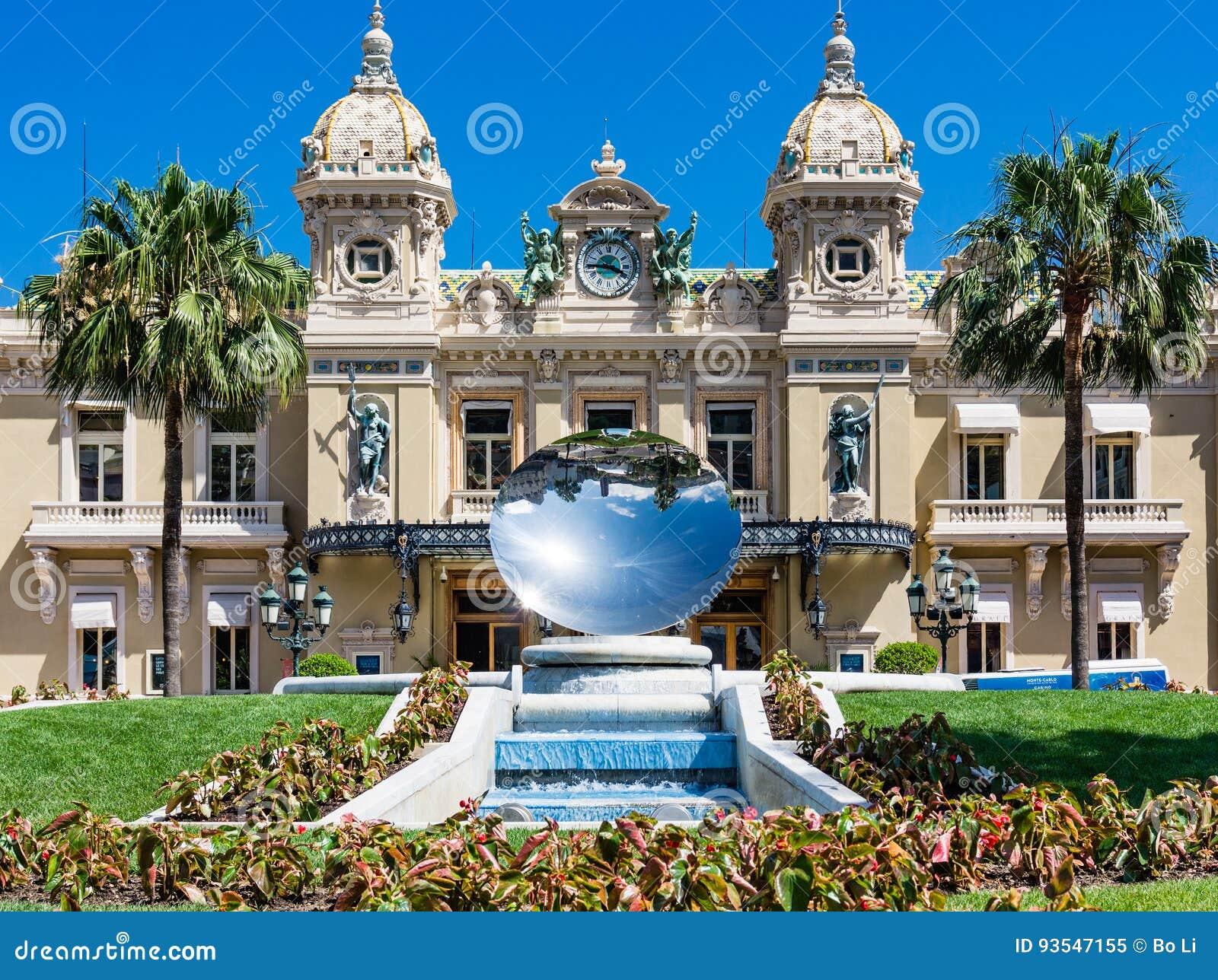 Plato del espejo del casino de Mónaco