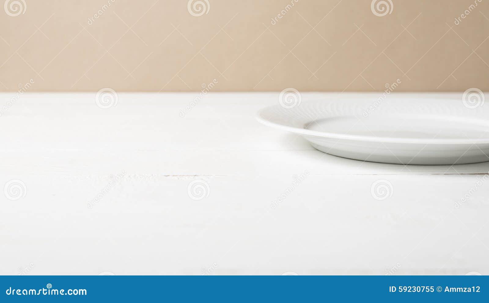 Download Plato vacío imagen de archivo. Imagen de dishware, placa - 59230755