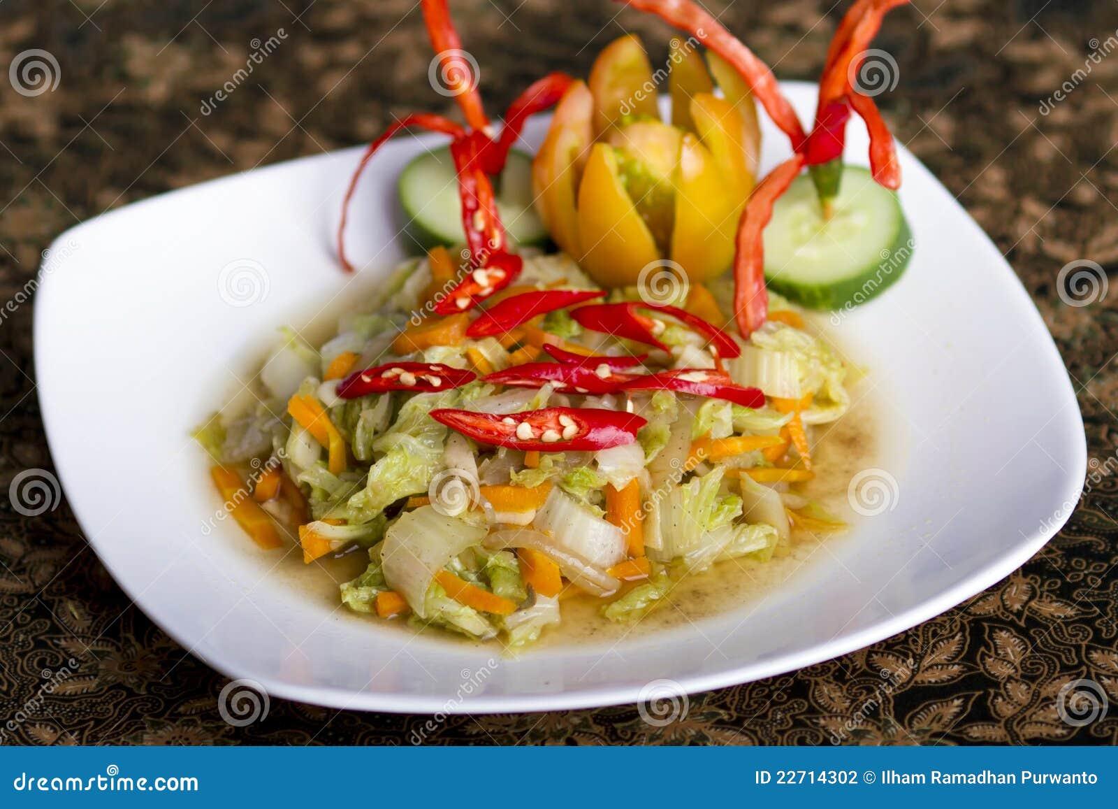 Platos vegetales picantes