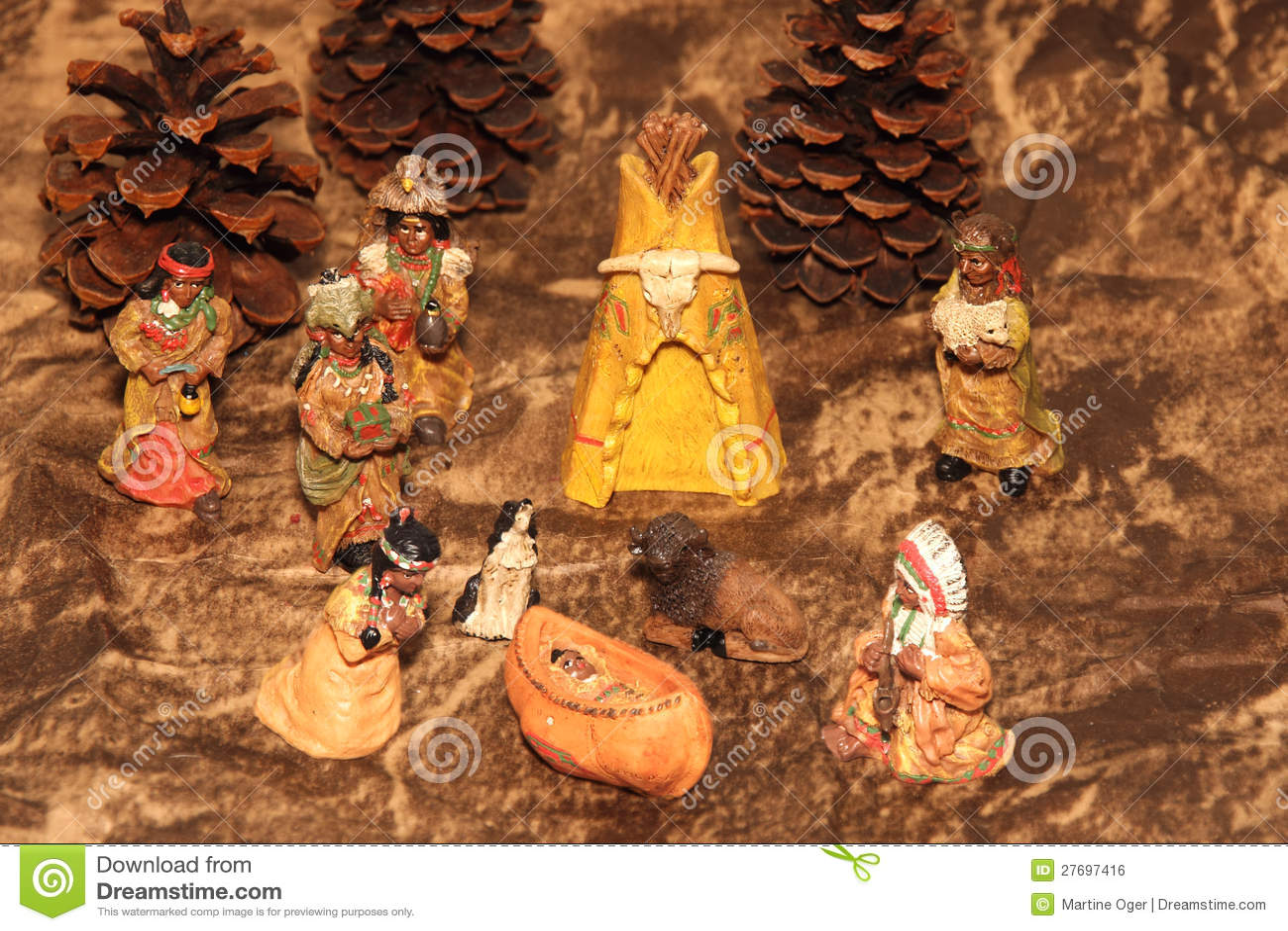Plats av Nativity vid aboriginal.