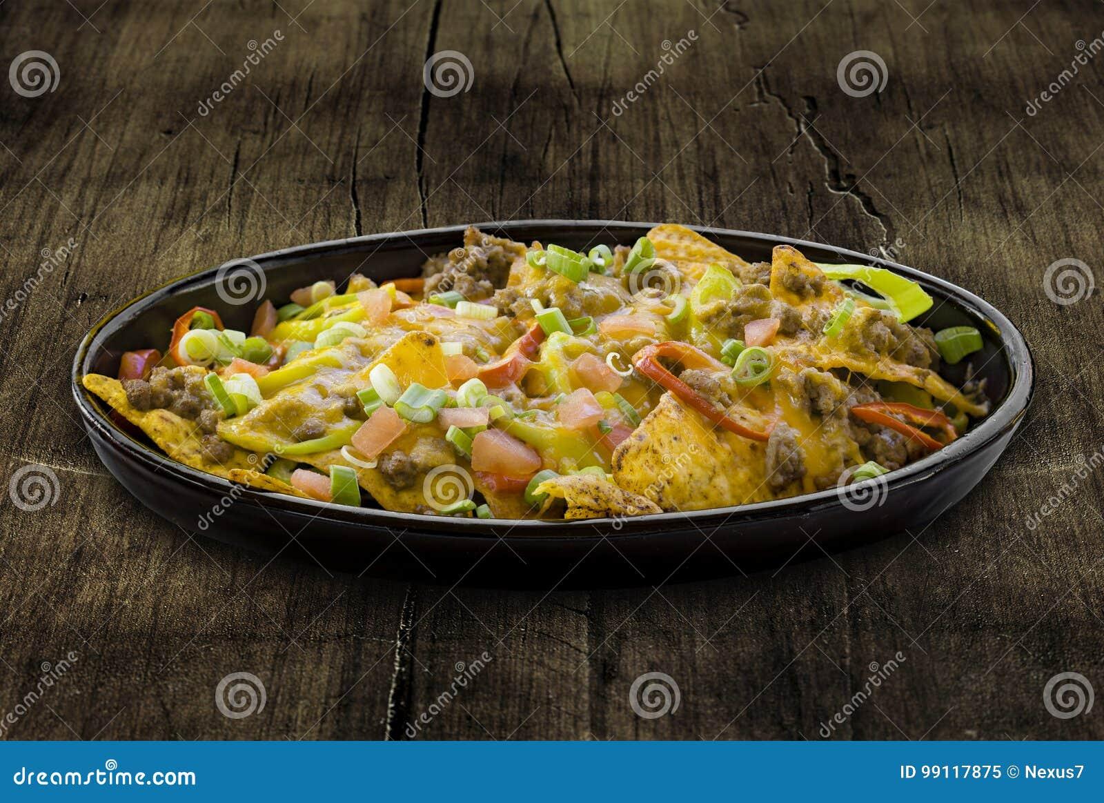 Platta av nachos