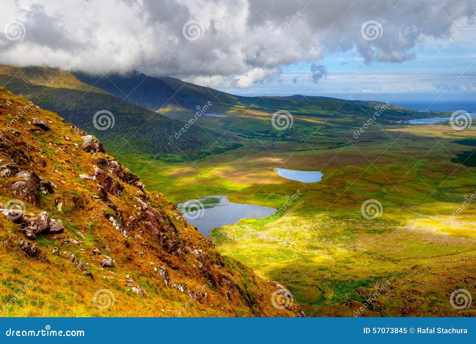 Platteland op Dingle Schiereiland