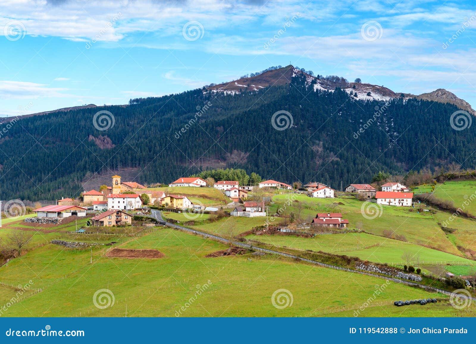 Plattelandstoerisme bij de Baskische gebieden van het Land, Spanje
