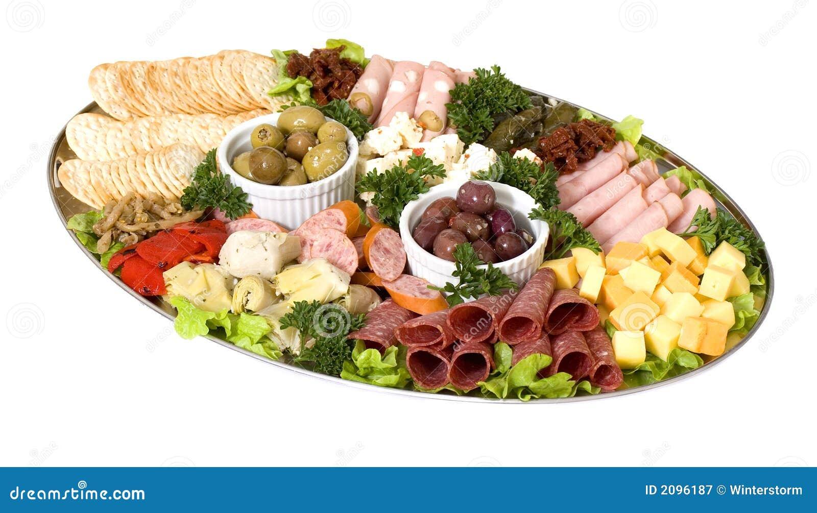 Platter τομέα εστιάσεως antipasto