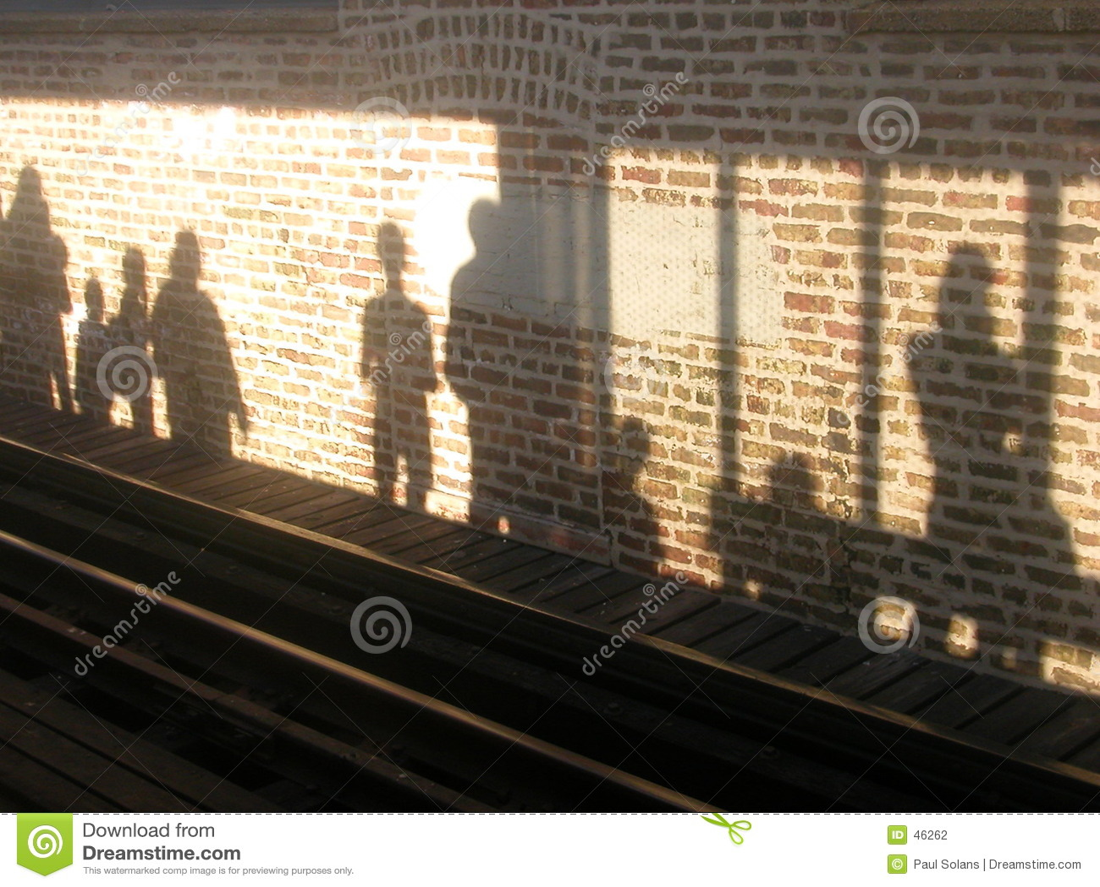 Plattform-Schatten