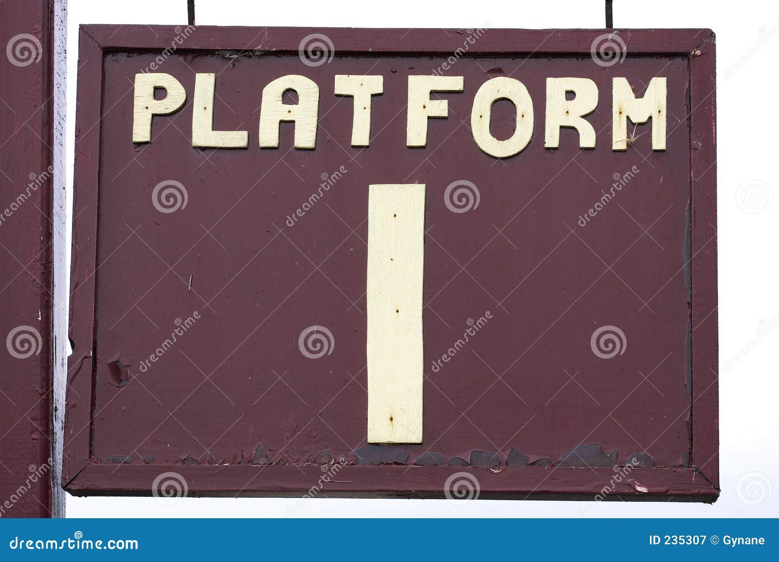 Plattformstecken