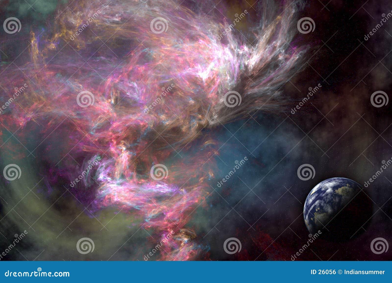Download Platzdrehbuch stock abbildung. Illustration von galaxie - 26056