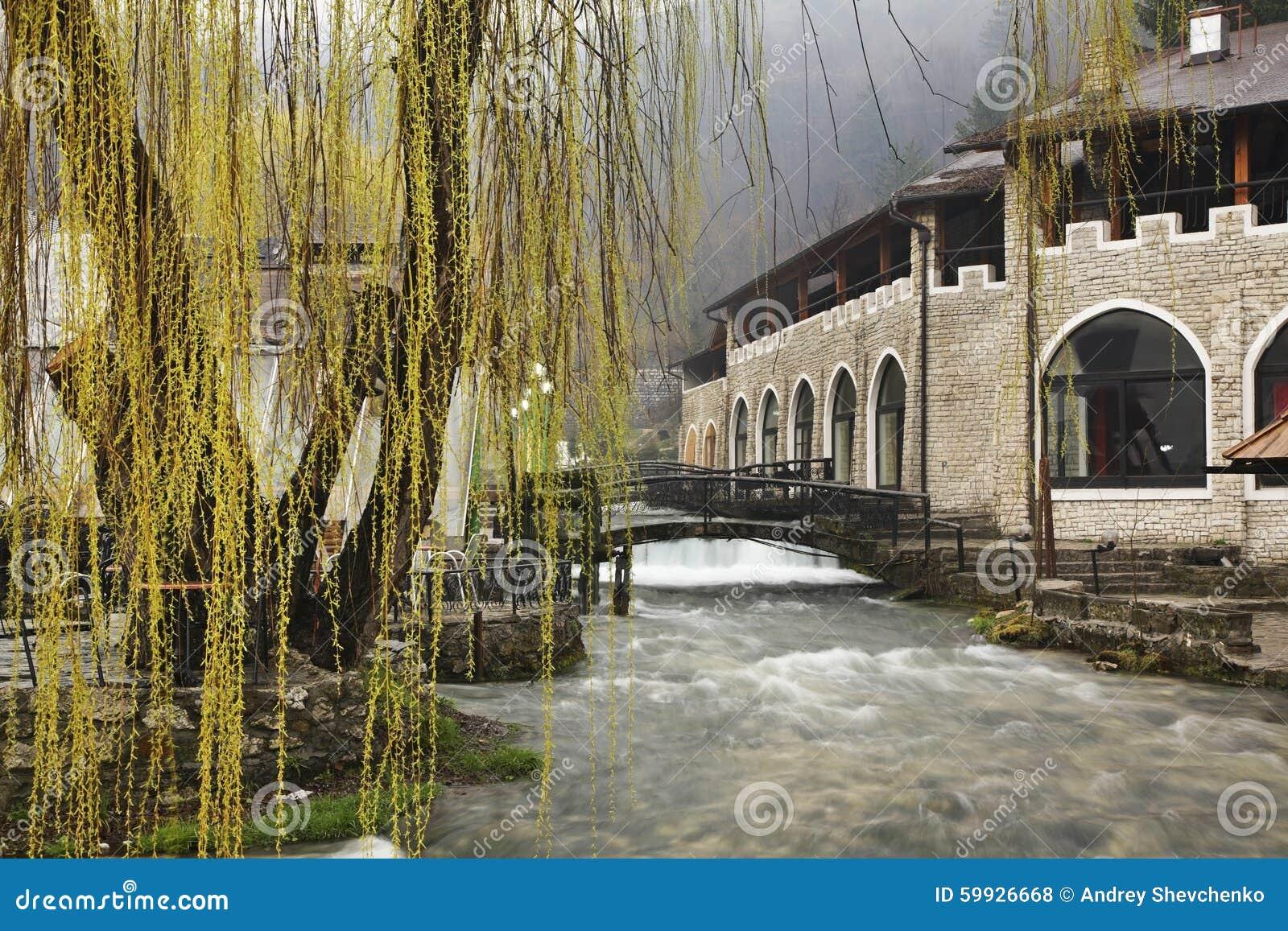 Plava voda i Travnik stämma överens områdesområden som Bosnien gemet färgade greyed herzegovina inkluderar viktigt, planera ut te