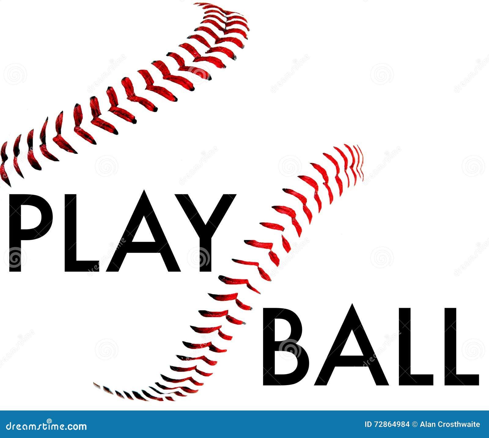 play ball stock illustration illustration of play team