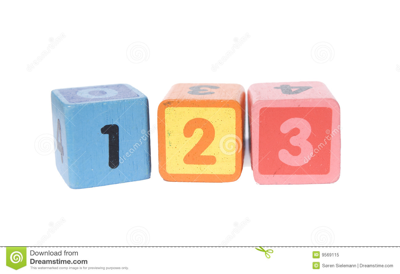 123 Blocks Clipart Play blocks with 123 numbers