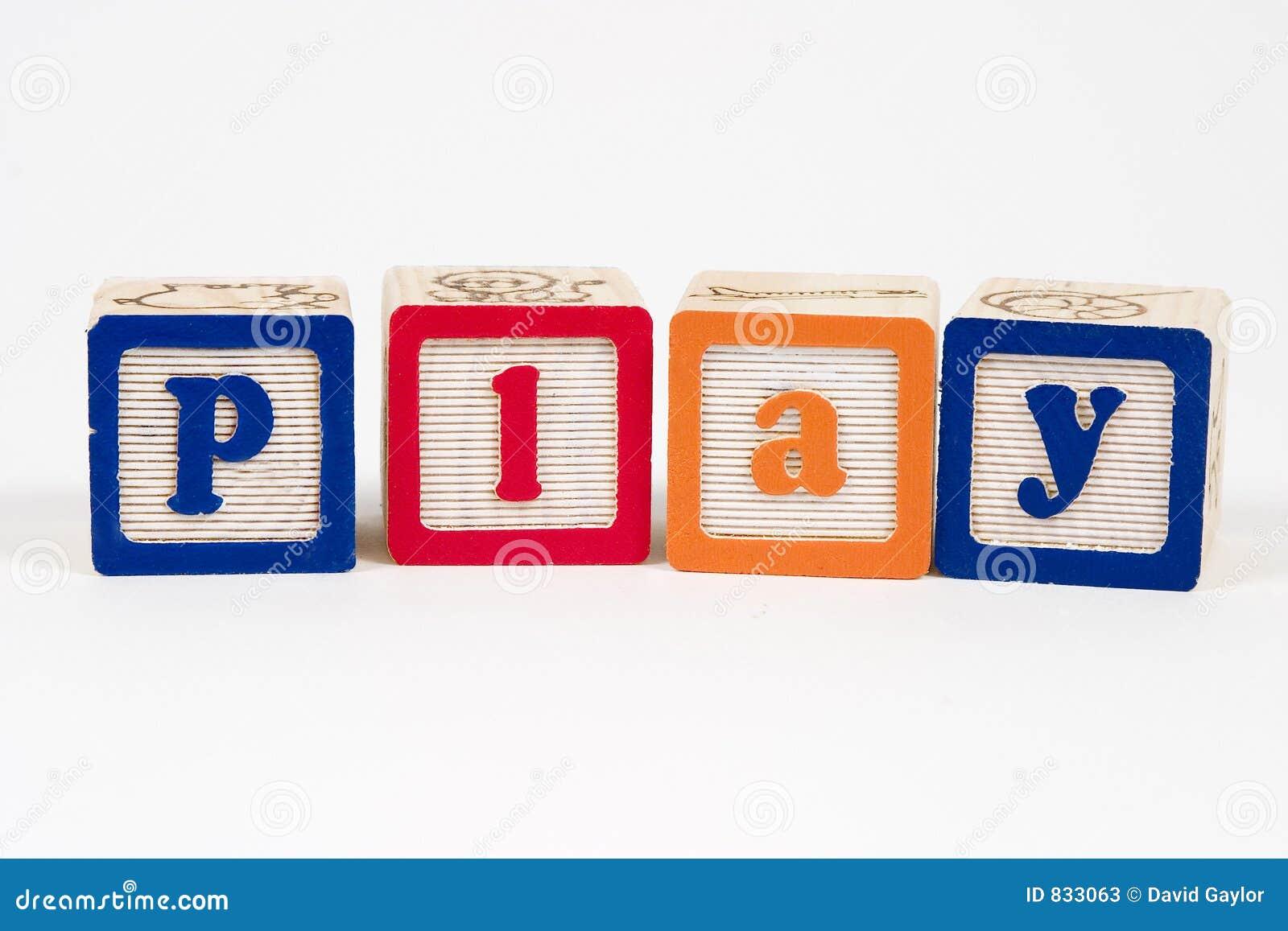Play in blocks
