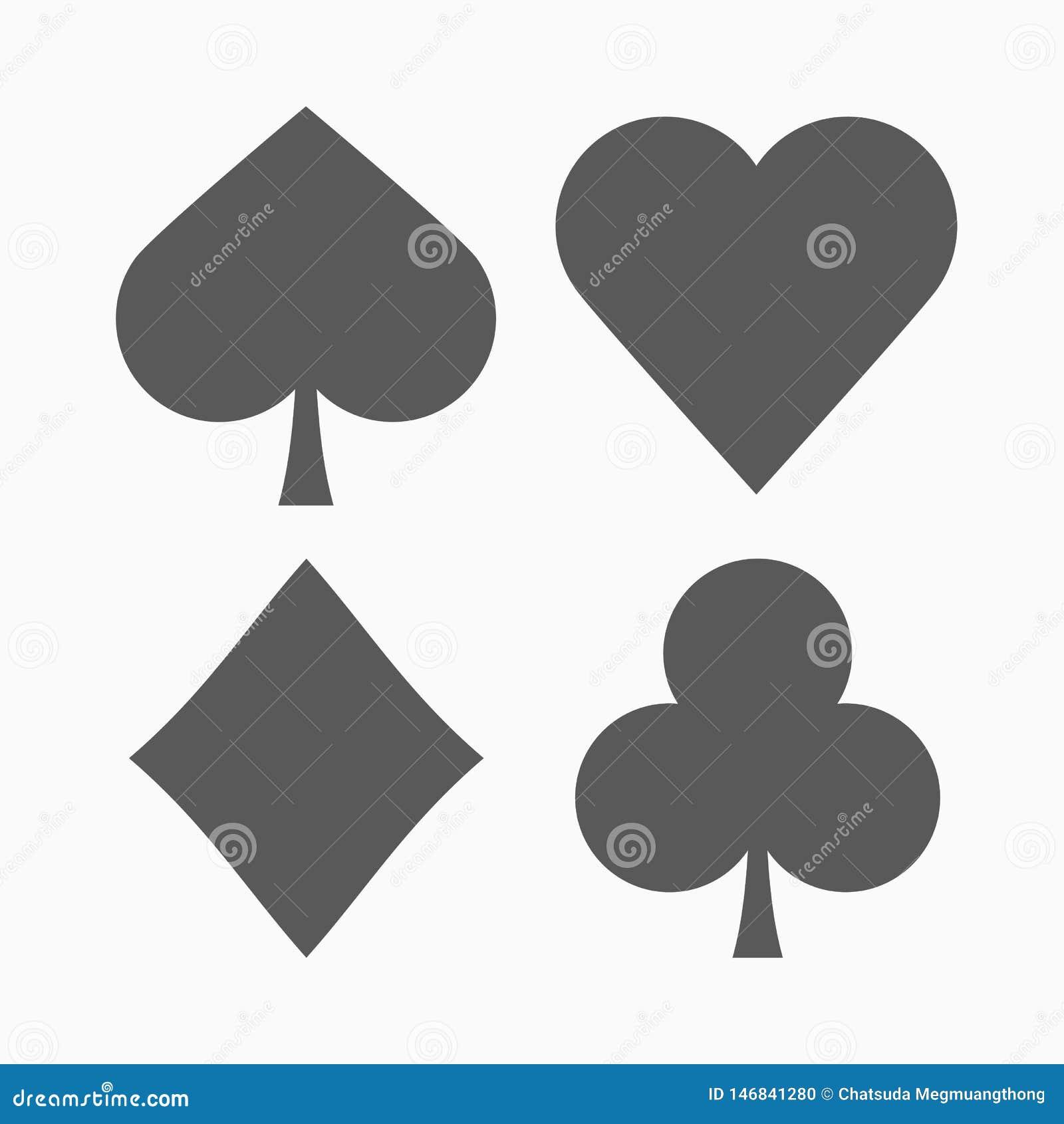 Play card icon, gambling, casino, poker