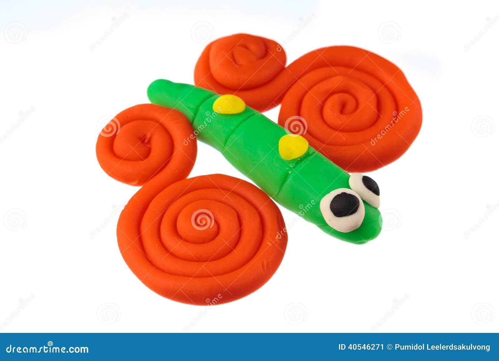 Play Dough Animal Stock Photo - Image: 40546271