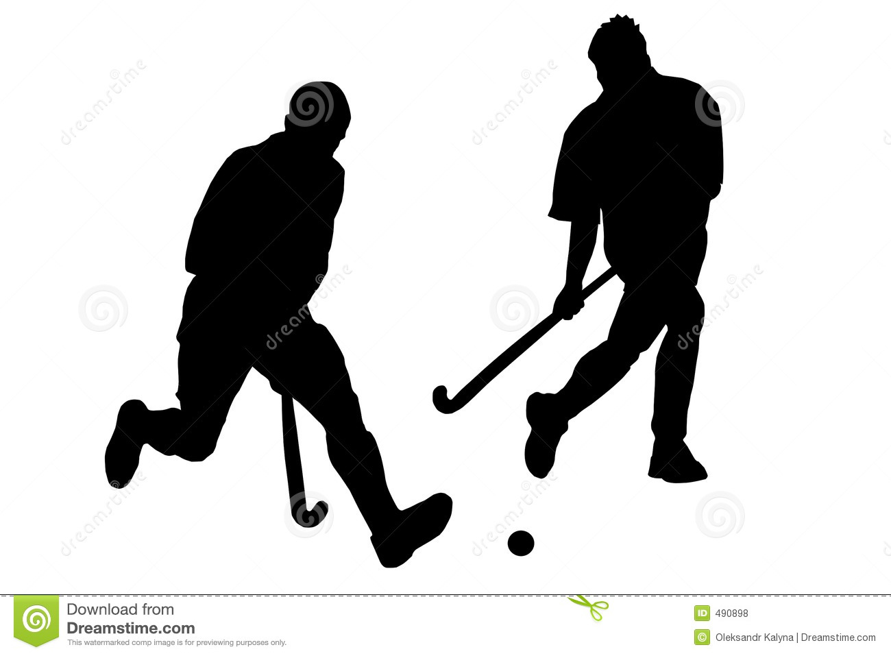Play The Field Hockey Royalty Free Stock Photos - Image: 490898