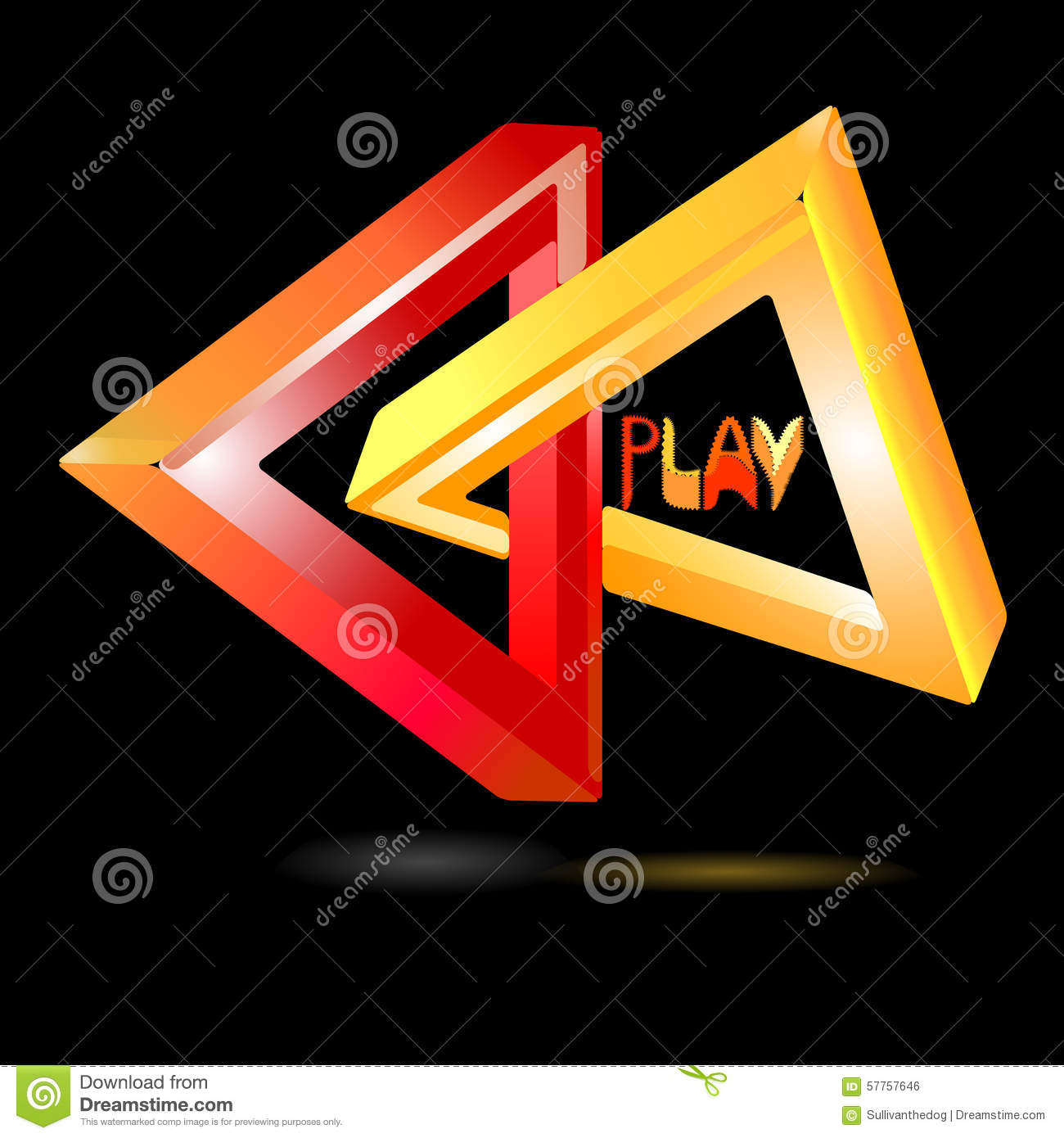 Play logo stock vector illustration of generated concept 57757646 play logo buycottarizona Images