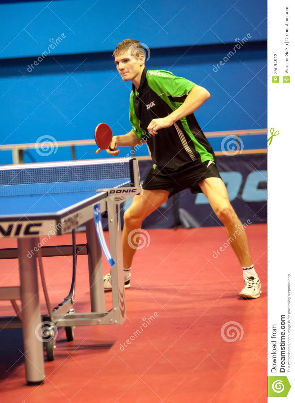 play table tennis tournament