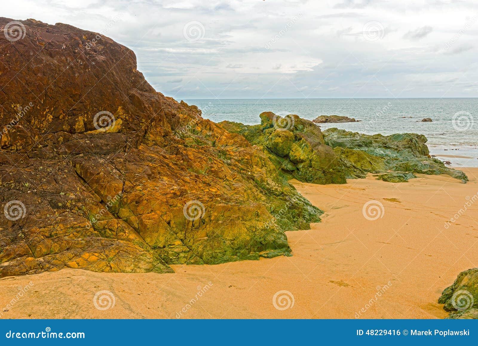 Playa cerca de Pedasi en Panamá