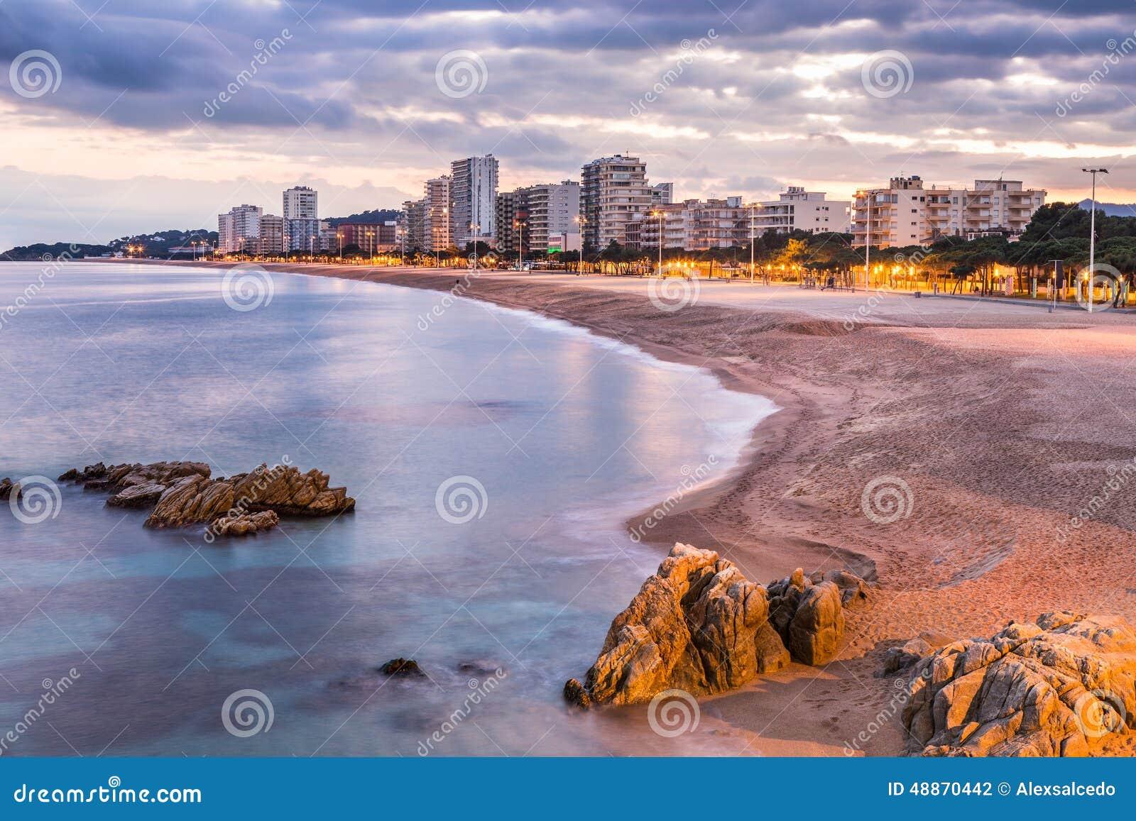 Playa De Aro Spain  city photos gallery : Playa de aro beach landscape, Costa Brava. Spain.