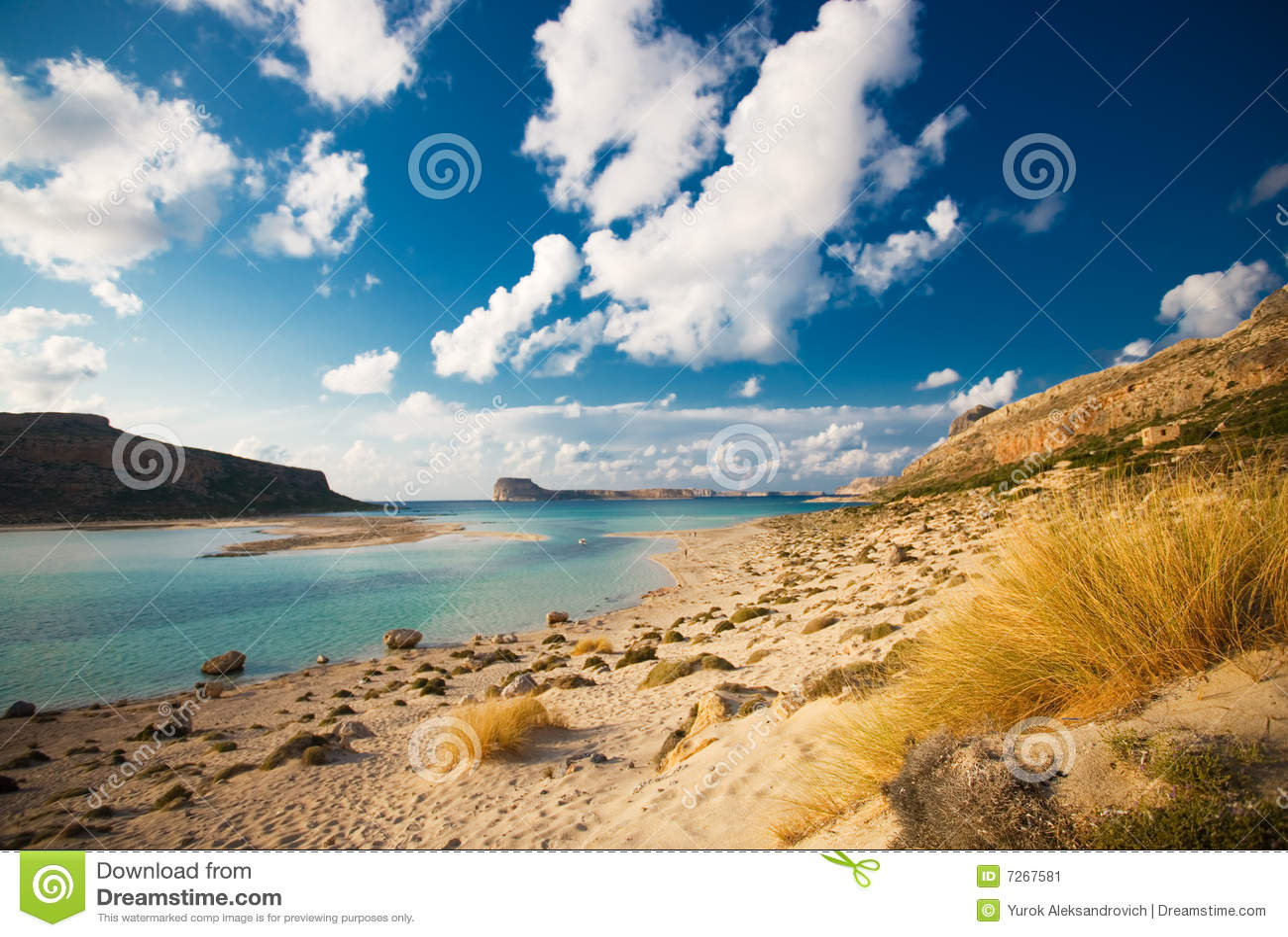 Playa de Balos, crete, Grecia