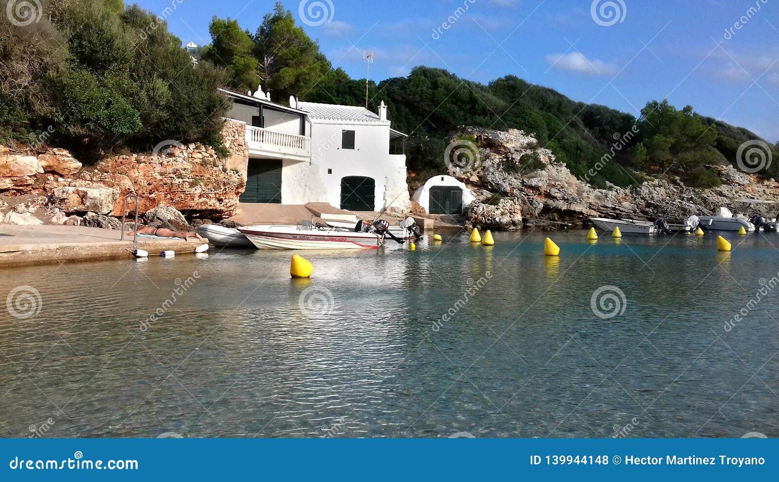 Playa de Binisafuller, Menorca