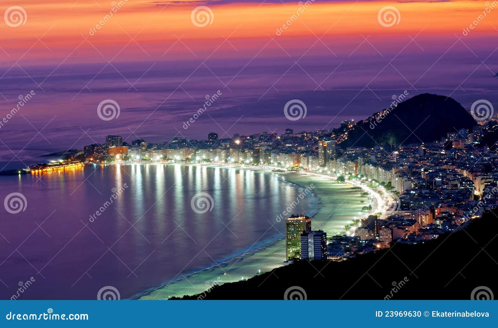 Playa de Copacabana. Rio de Janeiro