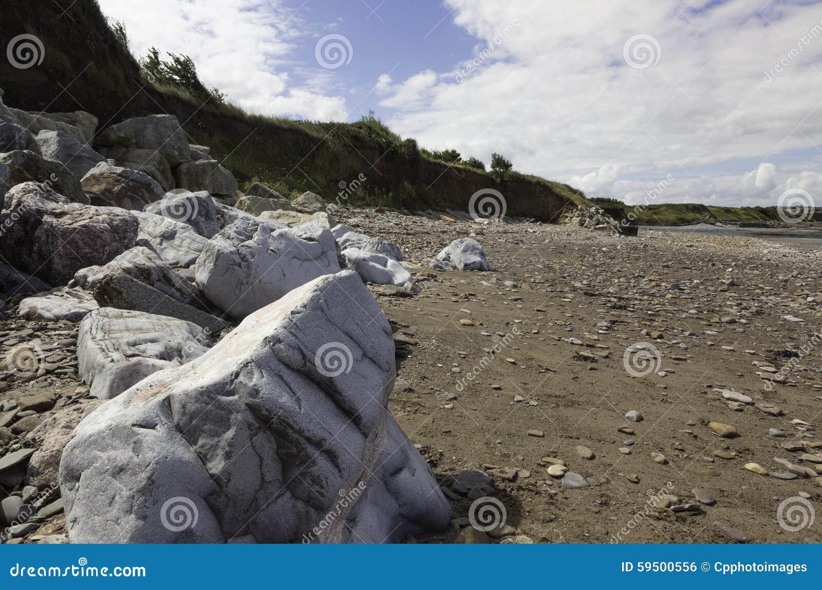 Playa de Doniford, Exmoor, Reino Unido