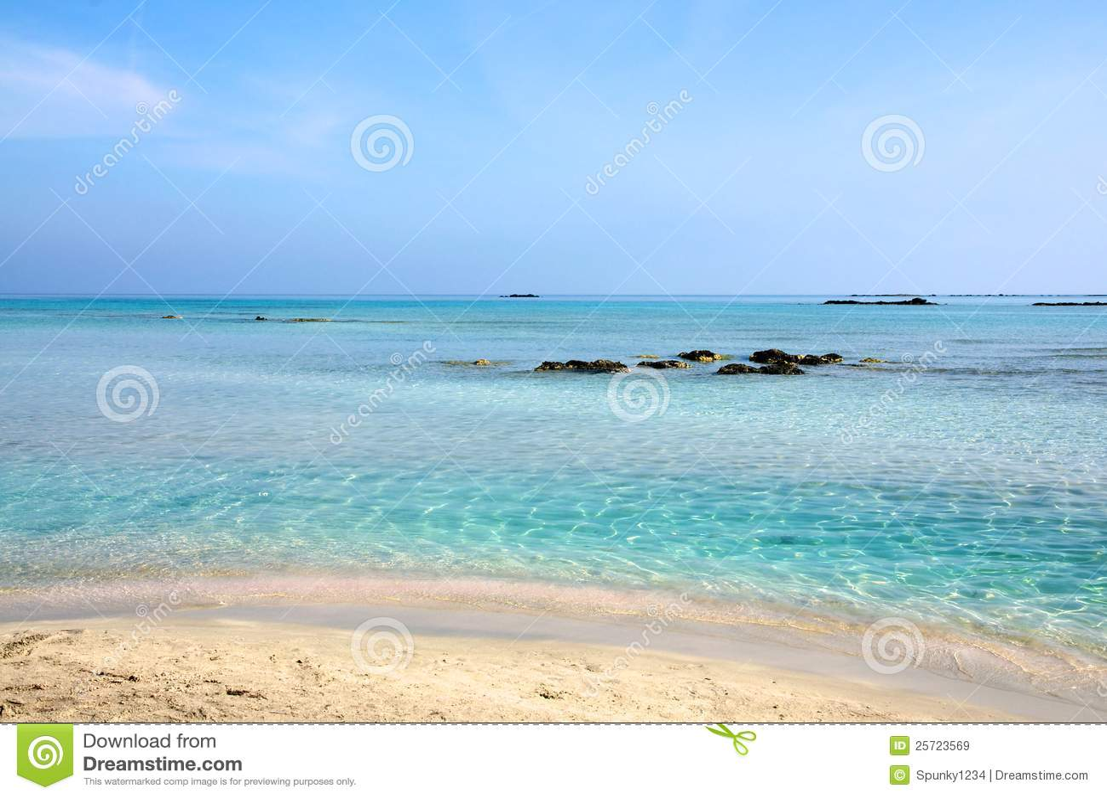 Playa de Elafonisi, Crete
