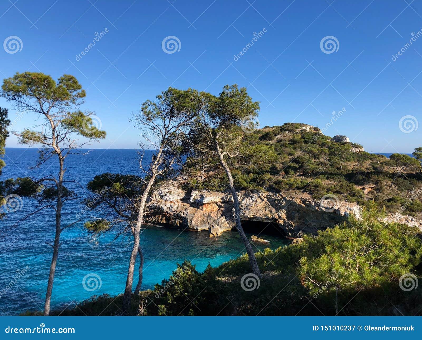 Playa DE Formentor Cala Pi DE La Posada, mooi strand bij GLB Formentor, Palma Mallorca, Spanje