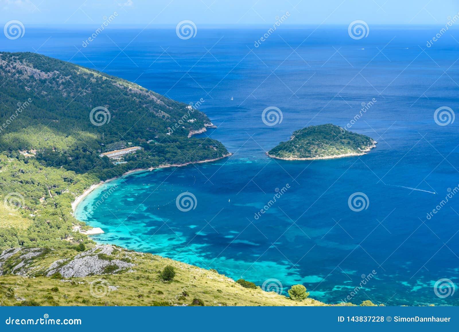 Playa DE Formentor - mooie kust van Mallorca - Spanje, Europa