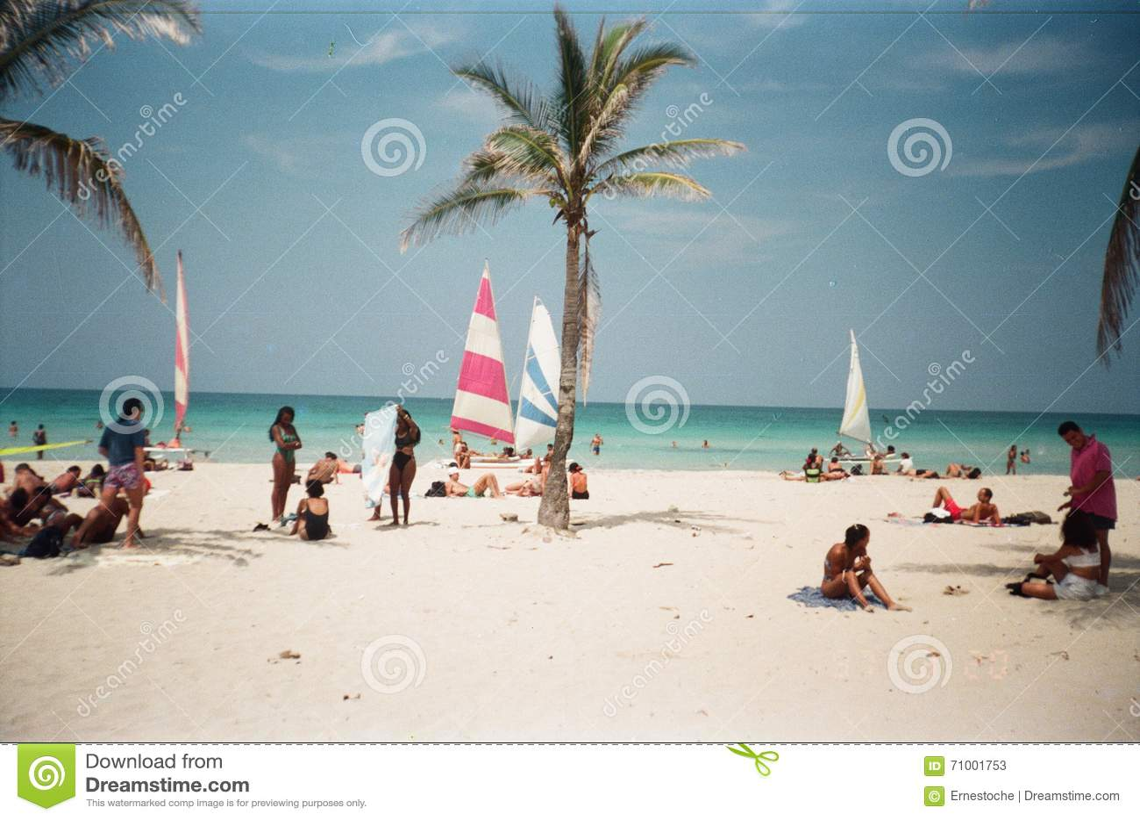 Playa de Guanabo en La Habana/Cuba