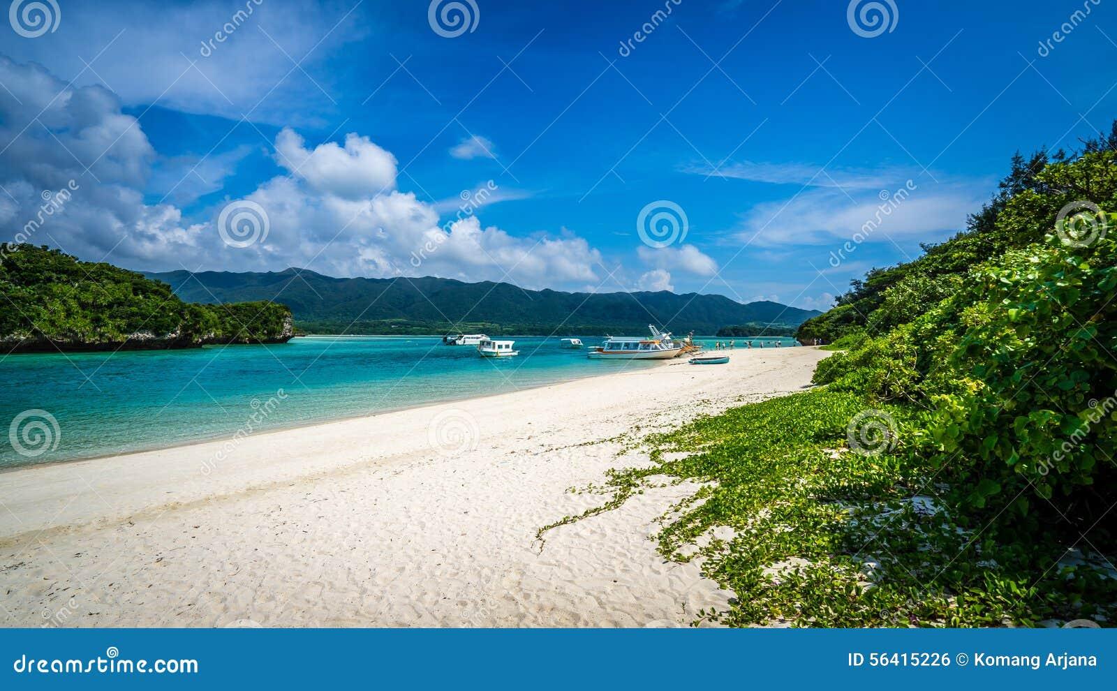 Playa de Kabira del paraíso
