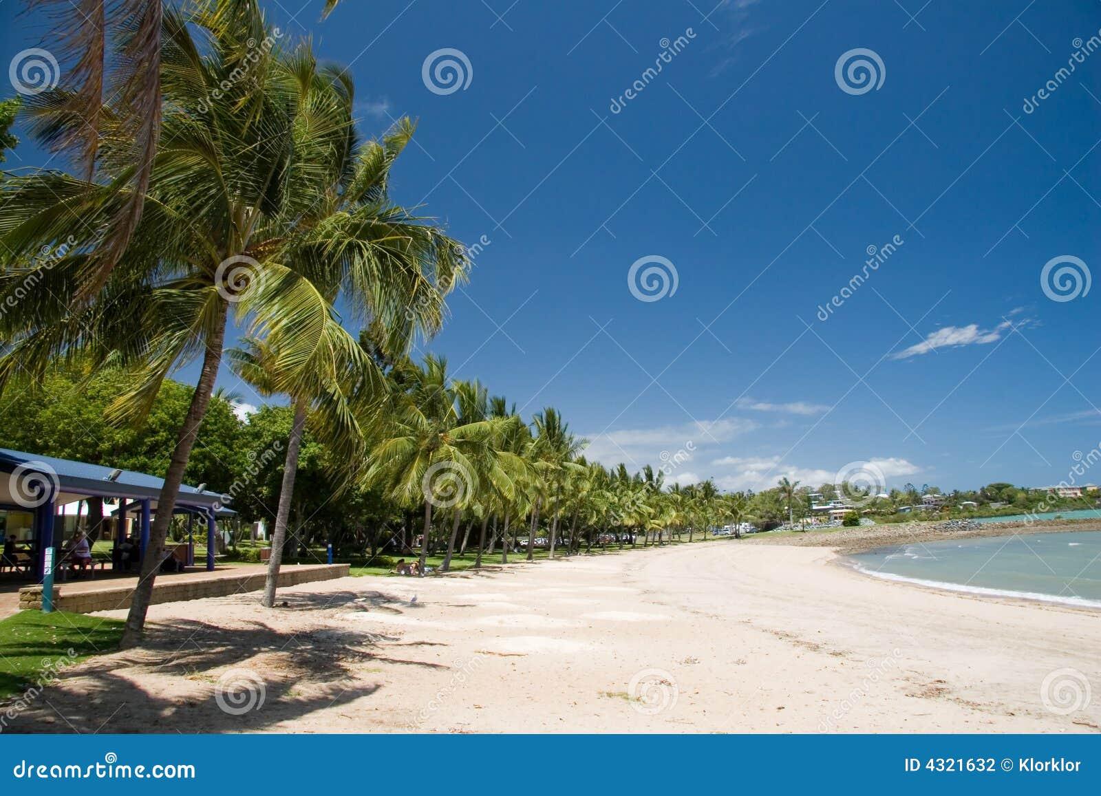 Playa de la bahía de Hervey