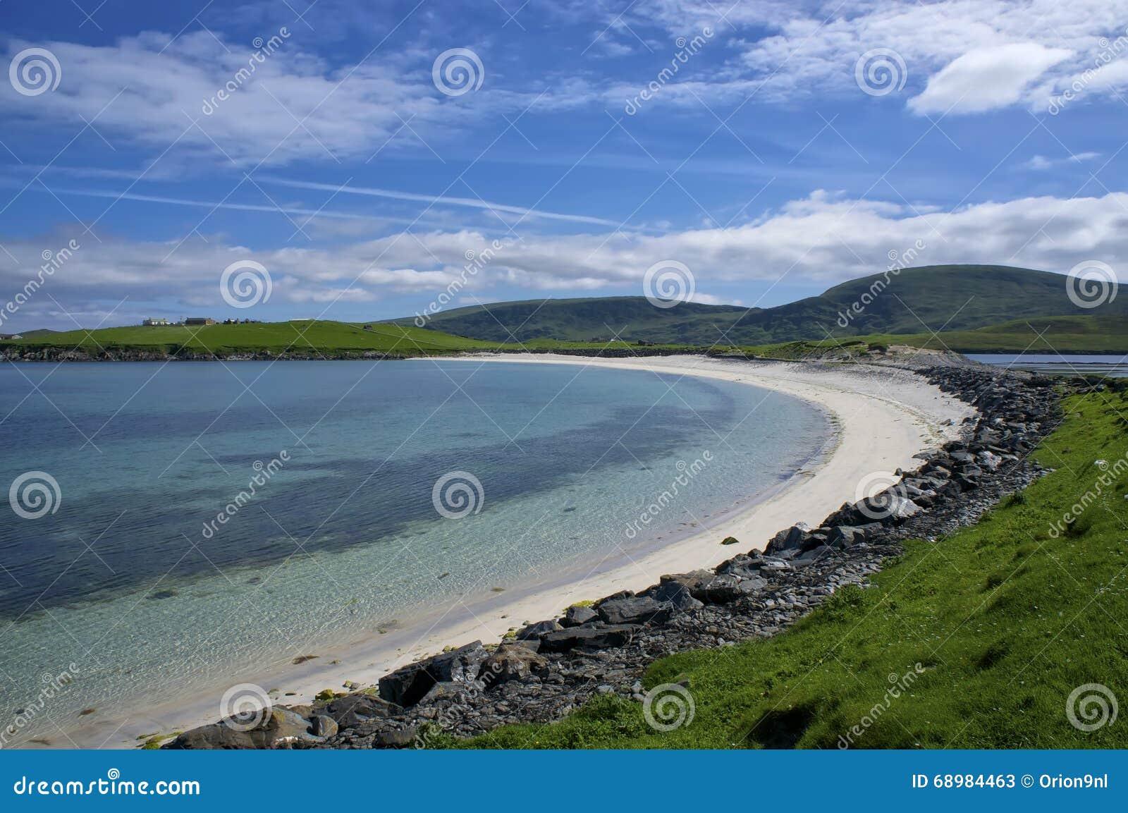 Playa de la comida en Burra del oeste