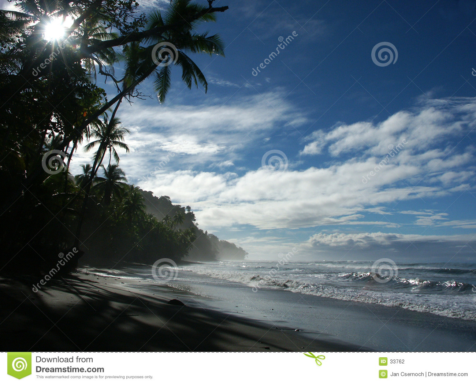Playa de la mañana