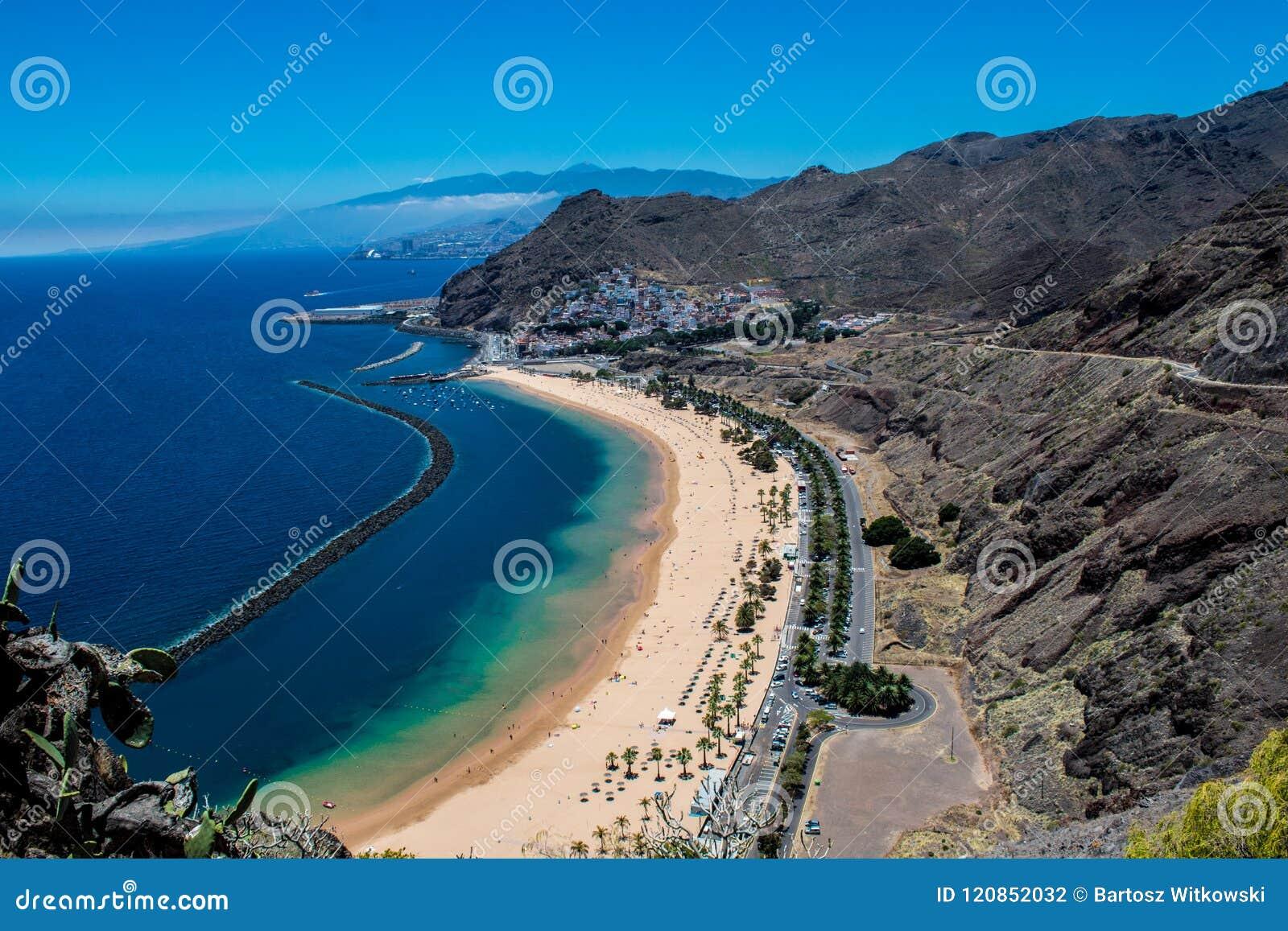 Playa DE Las Teresitas dichtbij Santa Cruz de Tenerife
