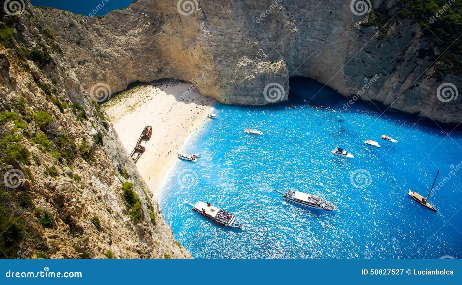 Playa Del Naufragio, Isla De Zakynthos