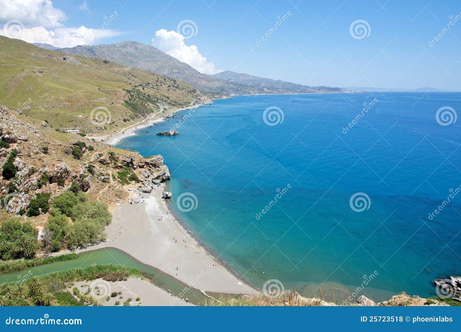 Playa de Preveli, Crete