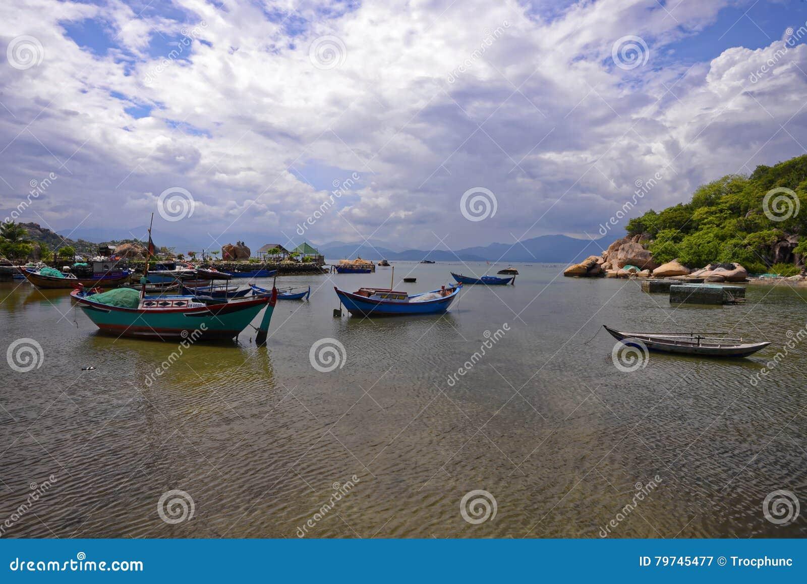 Playa de Ranh de la leva, Khanh Hoa, Vietnam - 9 de octubre de 2016