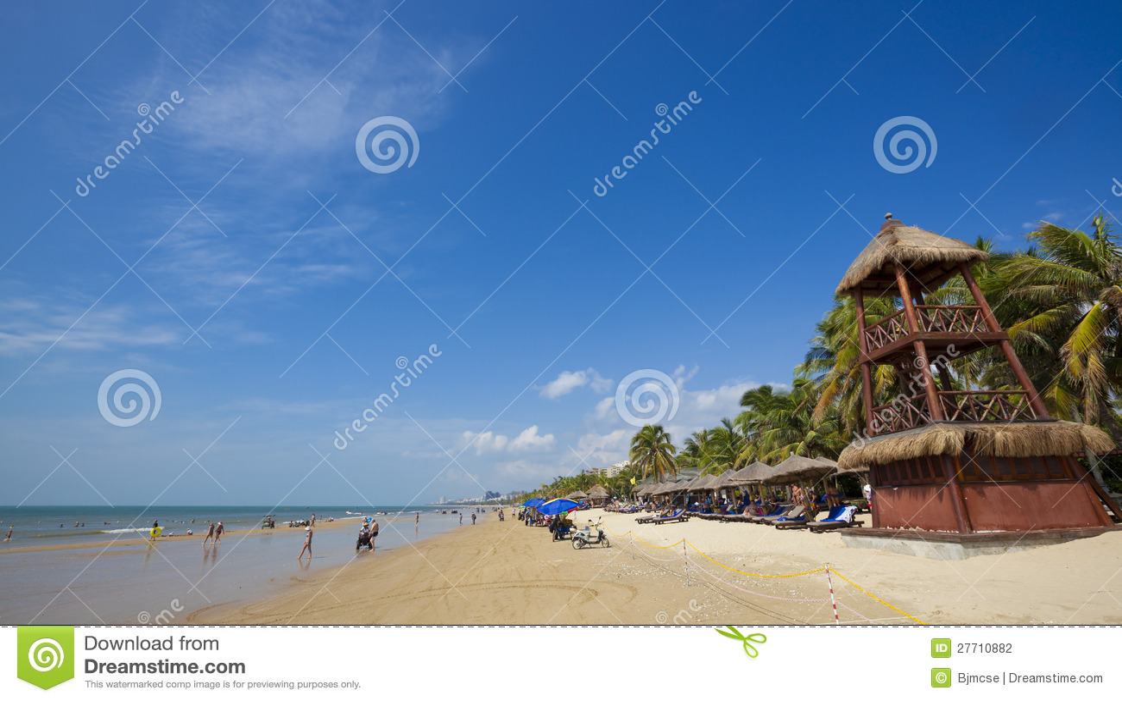 Playa de Sanya Hainan