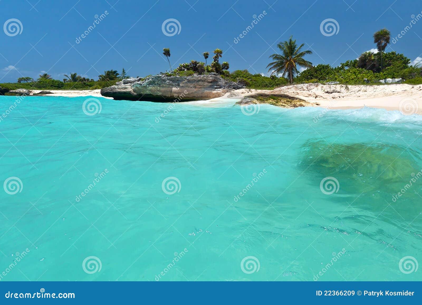 Playa del Carmen scenery in Mexico