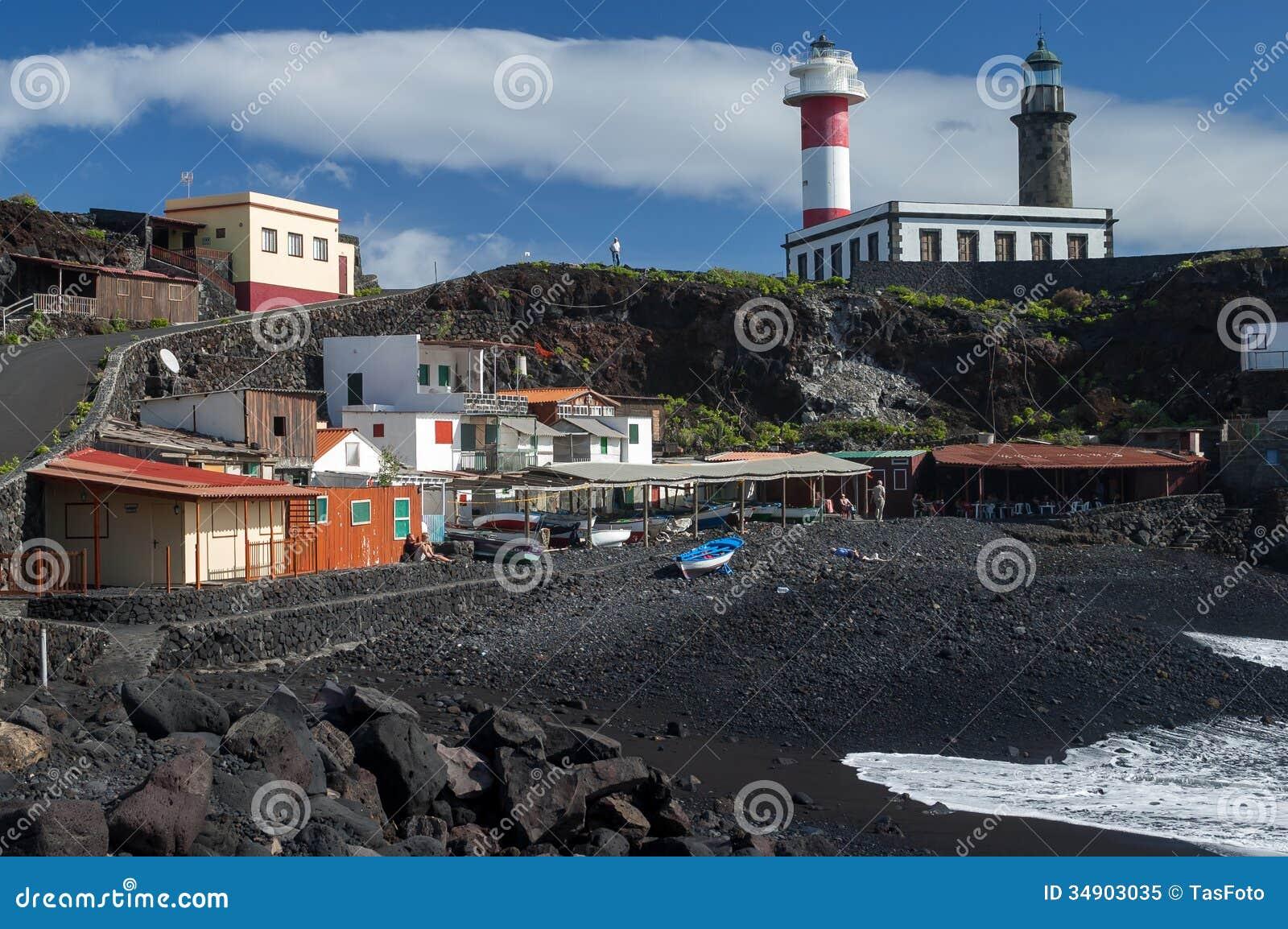 Playa Del Faro In Fuencaliente La Palma Editorial Image Image Of Bonita South 34903035