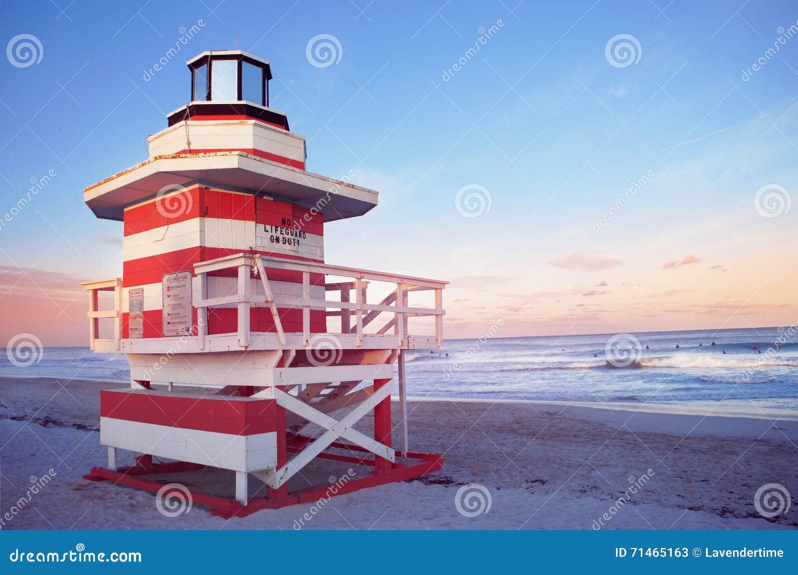 Playa del sur de Miami, Estados Unidos