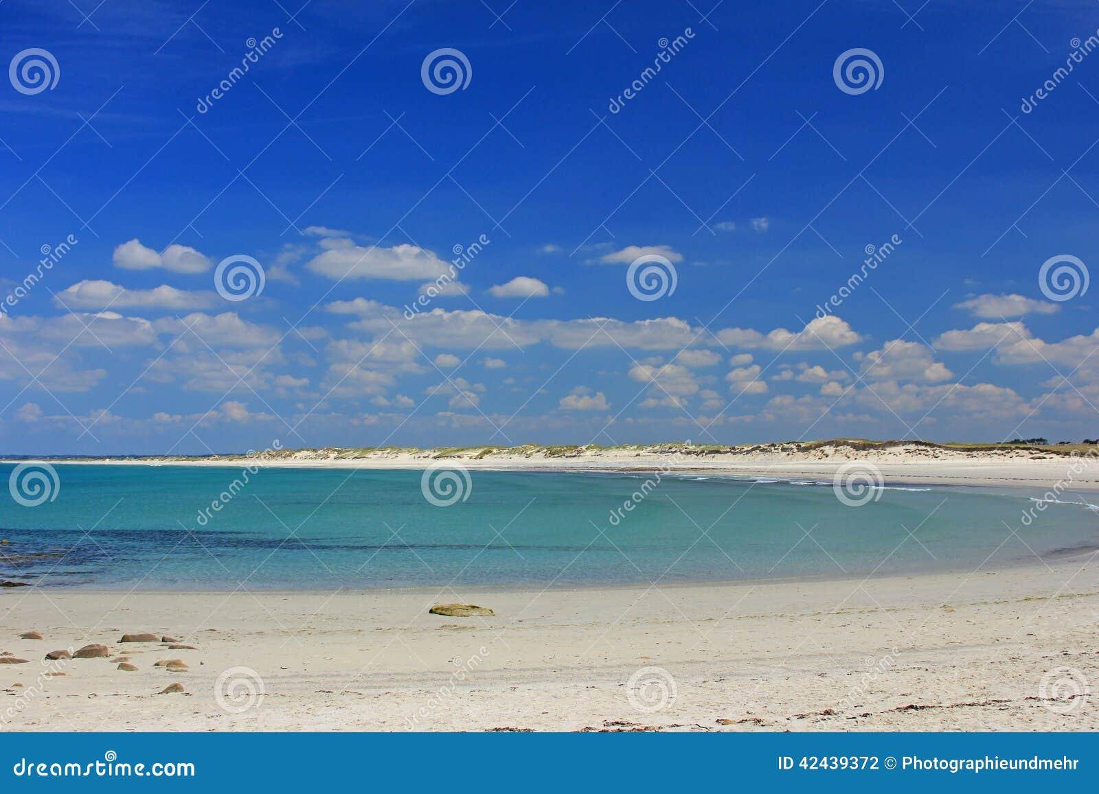Playa en el Océano Atlántico