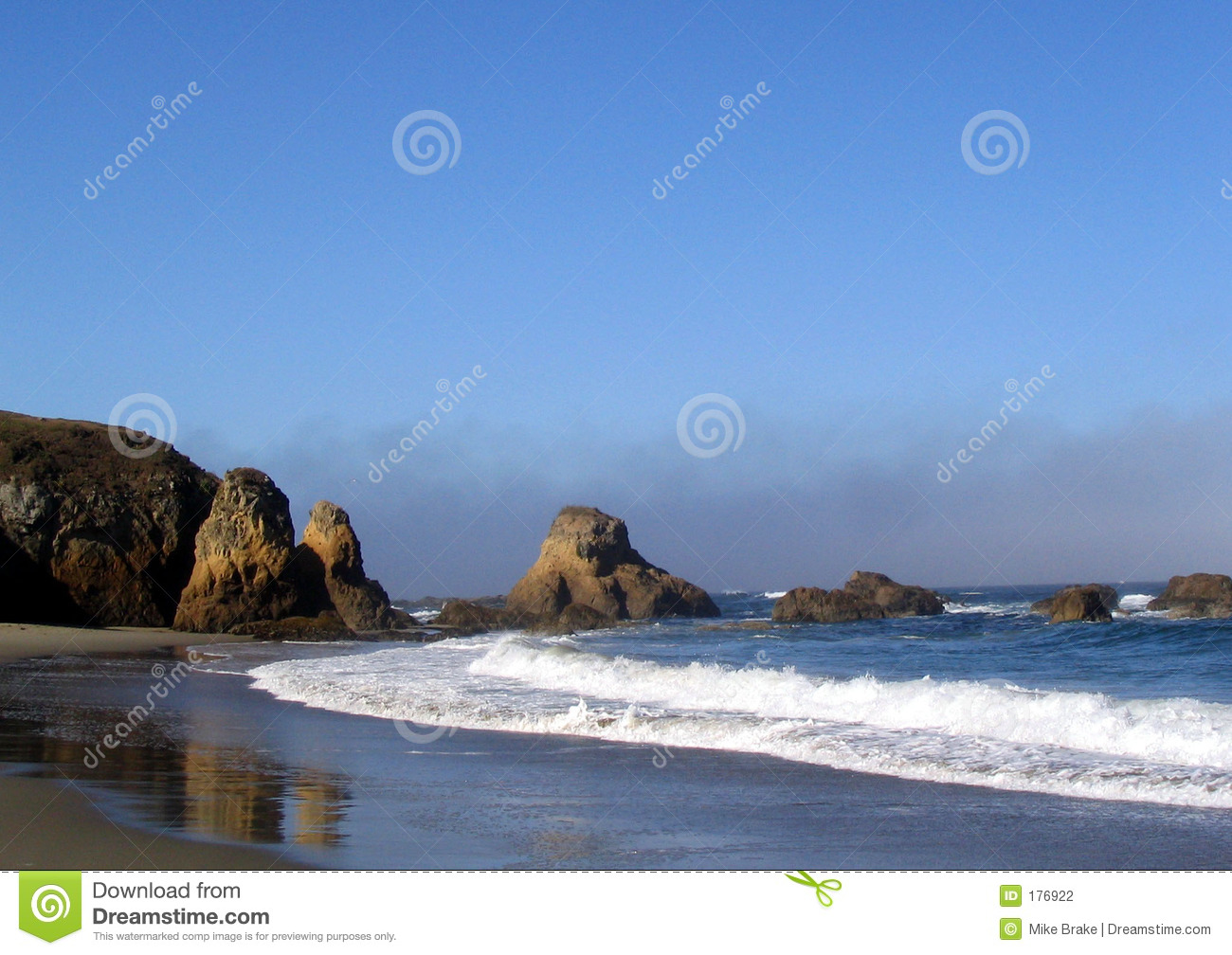 Playa en Fort Bragg